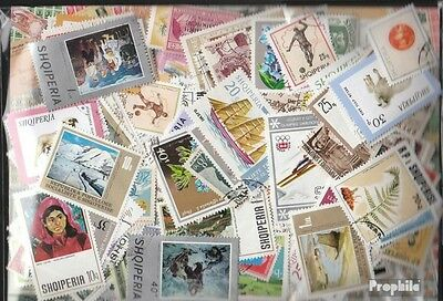 Albania 500 different stamps