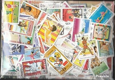 Motives 1.000 different Sports stamps