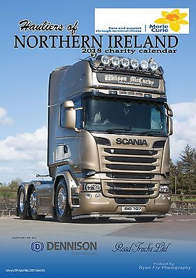 A3 Hauliers of Northern Ireland 2018 Charity Calendar (scania volvo) !! 2018 !!