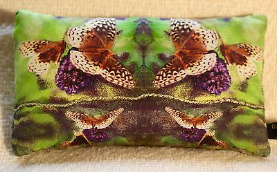 "Handmade ""Butterfly"" Pollinator French Lavender-Filled Sachets/Pillows 5""x4"""
