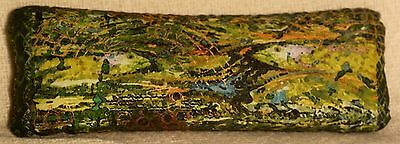 "Handmade ""River Forest"" Balsam-Filled Sachets/Pillows 10.5""x3.5"""