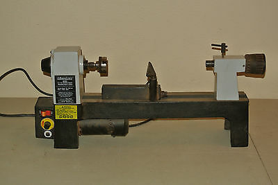 MicroLux 8 x 12 Variable Speed Woodturners Lathe