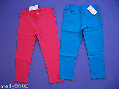 Funky Babe  - Girls  - 3/4 Length - Coloured Jeans -  Size 8, 10