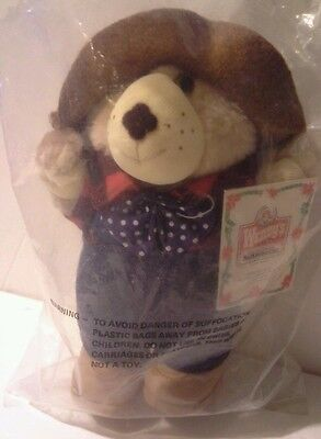 1986 Wendy's Farrell Furskin SEALED in original plastic package  with Tag 8''