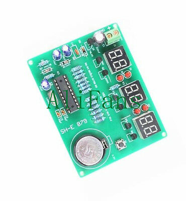 AT89C2051 Digital 6 Bits Electronic Clock Electronic Production DIY Components