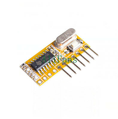 RXC6 433Mhz Superheterodyne Wireless Receiver PT2262 Code Steady for Arduino/AVR