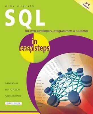SQL in Easy Steps by Mike McGrath 9781840785432 (Paperback, 2012)