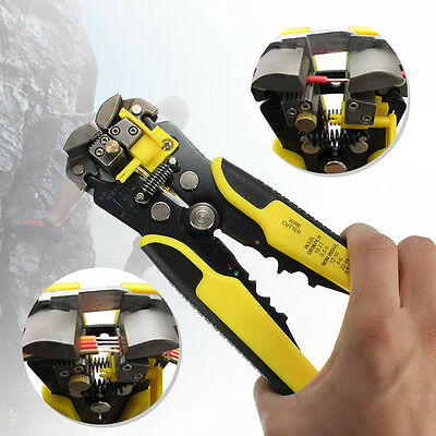 Multifunctional Automatic Wire Stripper Cutter Crimping Pliers Terminal Tool