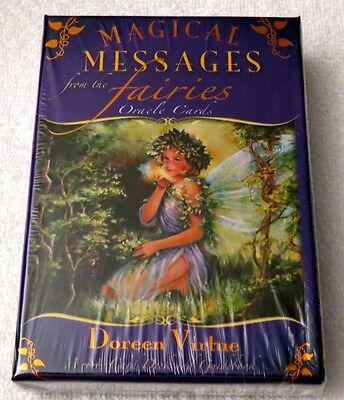 NEW Sealed - Magical Messages From The Fairies Oracle Cards Deck - Doreen Virtue