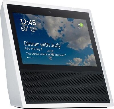 Amazon Echo Show Alexa WHITE BRAND NEW - IN STOCK ✔✔ FREE USA SHIPPING ✔✔