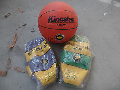 KINGSTAR OFFICIAL BASKET BALL BASKETBALL - choice of 3 colours
