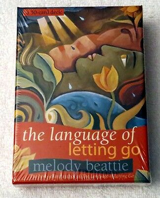 NEW Sealed - The Language Of Letting Go Oracle Cards Deck - Melody Beattie