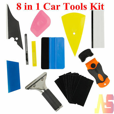 New Squeegee Car Auto Window Tinting Film Wrapping Install Applicator Tools Kits