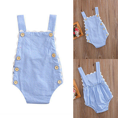 Toddler Baby Girls lace Romper Jumpsuit Bodysuit Newborn Kids Clothes Outfit Set
