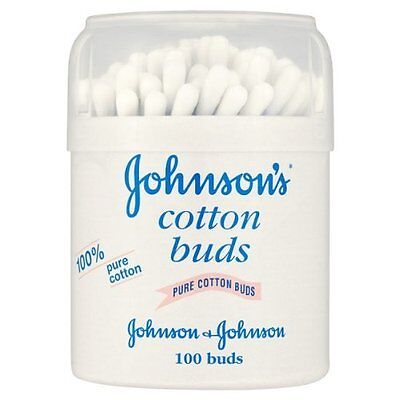 Johnson's Cotton Buds 6 Pack x 100 Buds per pack