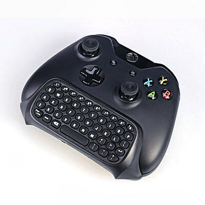 2.4g Mini Wireless Chatpad Message Keyboard for Xbox One Controller Black