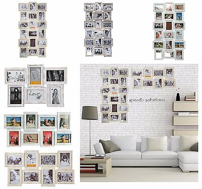 Multi Frame Vintage Antique Style Family Picture Photos Frame Wall Hanging Holds