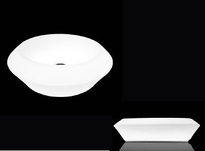 Glass Design countertop basins Privileged Paths of Water countertop sink ISOLA S