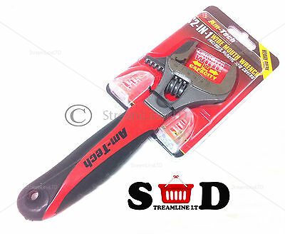 2 In 1 Adjustable Wide Mouth Pipe Wrench Spanner Garage Plumber Grip Tool C1678