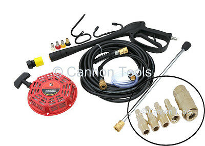 Pressure Jet Washer Lance Hose Nozzles Tubing Cord Replacement Parts Kit  Ct2256