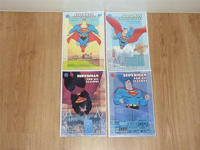 Superman: For All Seasons #1 to #4 Complete Set - DC 1998 - NM/NM+