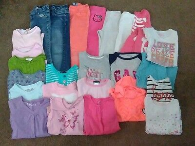 Girls Size 5/6 HUGE FALL & WINTER LOT 27 pieces Jeans Tops Pants Gap Old Navy