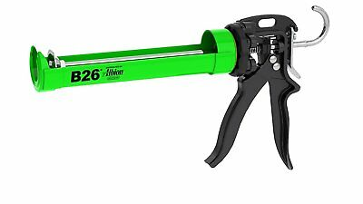 Albion Engineering B26 Manual Cartridge Caulk Gun, 1/10 gal