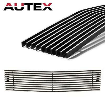 Chrome Billet Grille Insert for 15-19 Chevy Silverado 2500HD/3500HD Lower Bumper