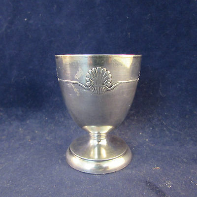 "Christofle France Silverplate VENDOME ""SHELL"" Egg Cup"