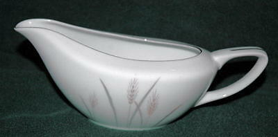 Gravy Boat in Platinum Wheat by Fine China of Japan