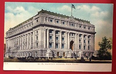 Postcard~ Vintage -U.S. Custom House ,New York