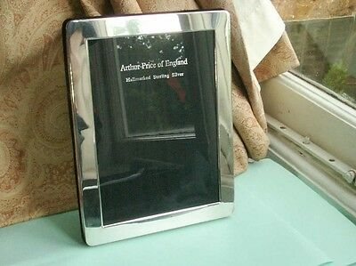 Old Vintage English Sterling Silver Hallmarked Photo Frame Arthur Price Boxed