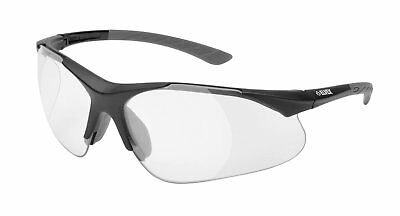 Elvex RX-500C-1.0 Full Magnifier Diopter Safety Glasses in Clear Lens