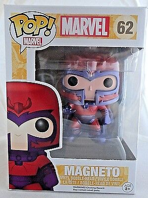 MAGNETO 62 Funko POP Marvel vinyl figure Brand New In Package HARD TO FIND rare