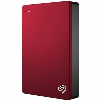 Seagate 5TB Backup Plus Hard Drive Red