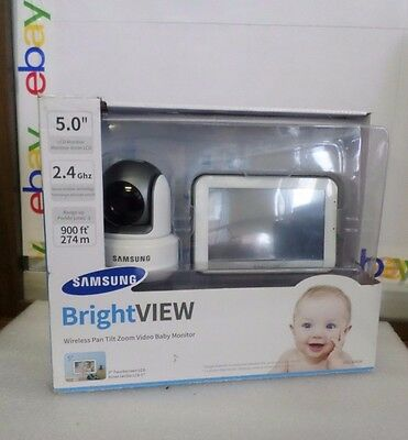 Samsung SEW-3043W HD Baby Monitoring BrightVIEW System Night Vision Touch Screen