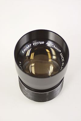 Kalart Victor 2 inch f1.2 16mm movie projector lens from a model 90-25
