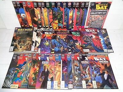 Batman: Shadow of the Bat 1-60, Ann 1-5,more SET! 67 Comics 1992 DC (b 18327)