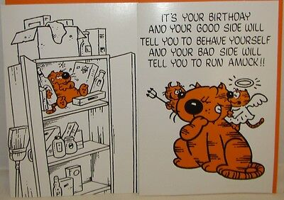 1980 Heathcliff Greeting Cards, 11 different cards w/envelopes, unused