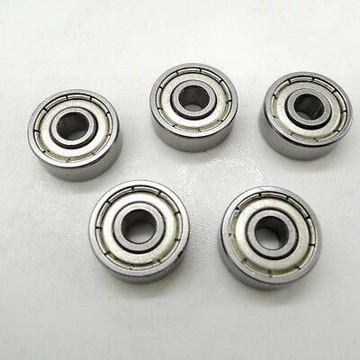 50pcs 626ZZ 6x19x6mm Miniatur Deep Groove Kugellager 6 * 19 * 6 mm
