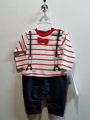 Baby Romper Jumpsuit Bodysuit Clothes Outfits Boy TV49 size 00, 0 Red