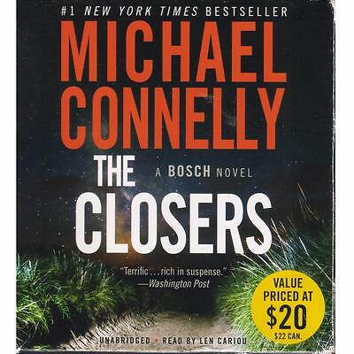 The Closers - A Bosch Novel by Michael Connelly (Unabridged Audio on CDs, 2005)