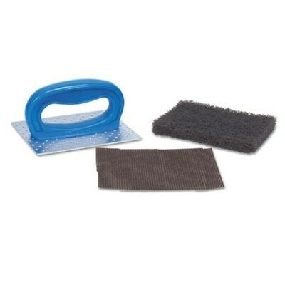 Unlike Others, Blasts Nastiest Crud Fast.  3M 08297 ScotchBrite Grill Pad Holder