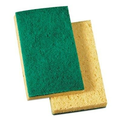 3M 20688 Scotchbrite Scrub Sponges, 3M Commercial-Grade Scrub Sponges (20/cs)
