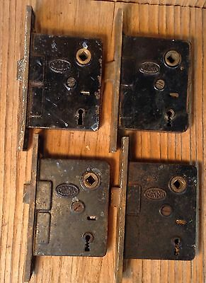 VINTAGE CORBIN MORTISE LOCK Lot Of 4