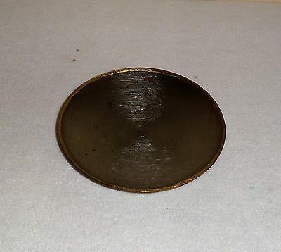 Egyptian Mixed Metal Gilt Edge Offering Plate