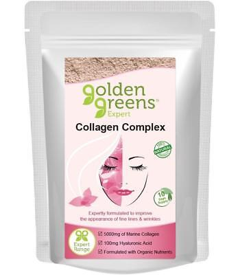 Golden Greens Expert Collagen Complex 100g or 300g Gluten & Lactose Free
