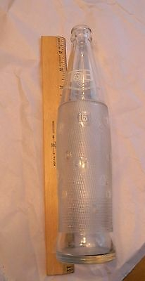 Vintage TAB 16 oz Soda Bottle Flavored Dietary Beverage Coca Cola Bottling Co