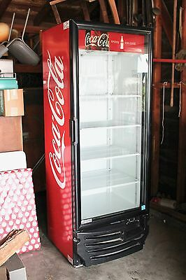 Coca-Cola Commercial Refrigerator/Cooler! Super Clean! BUYER ARRANGED SHIPPING!
