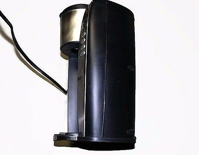 Coffee Maker Machine Automatic Stainless Steel Black with lifetime Filter